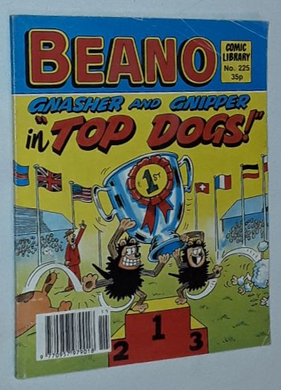 Image for Beano Comic Library No.225: Gnasher & Gnipper in 'Top Dogs!'
