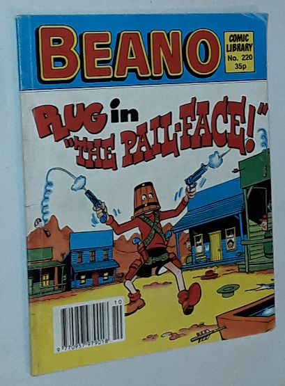 Image for Beano Comic Library No.220: Plug in 'The Pail-face!'