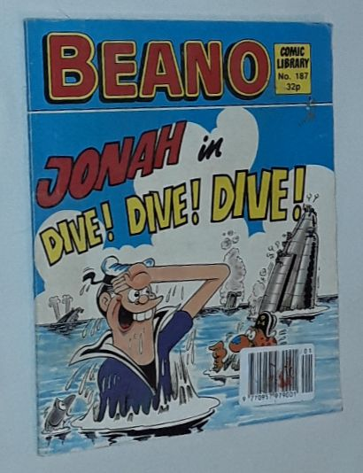 Image for Beano Comic Library No.187: Jonah in Dive! Dive! Dive!