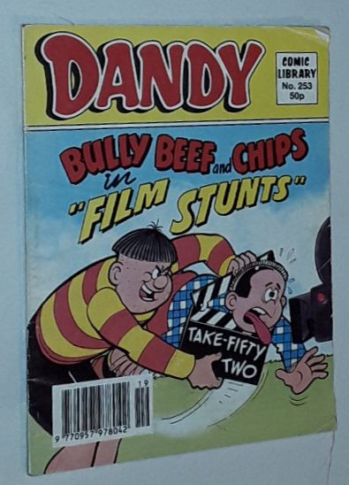 Image for Dandy Comic Library No.253: Bully Beef and Chips in 'Film Stunts'