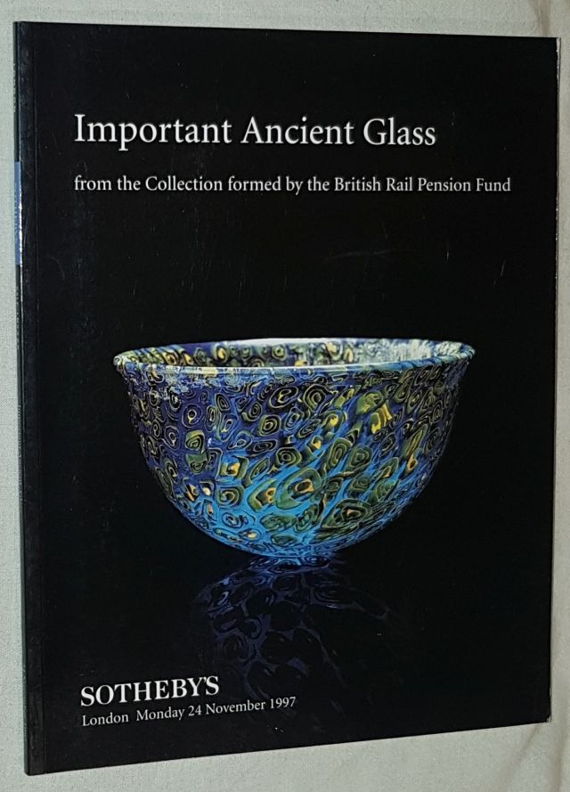 Image for Important Ancient Glass from the collection formed by the British Rail Pension Fund. Sotheby's, 24th November 1997