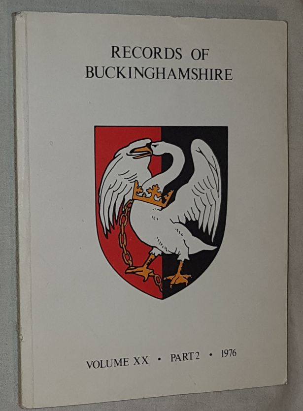 Image for Records of Buckinghamshire Vol.XX Part 2 1976. Being the Journal of the Architectural and Archaeological Society for the County of Buckingham