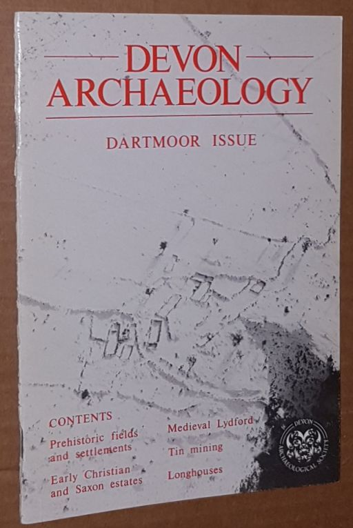 Image for Devon Archaeology No.3: Dartmoor Issue