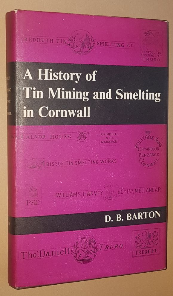Image for A History of Tin Mining and Smelting in Cornwall
