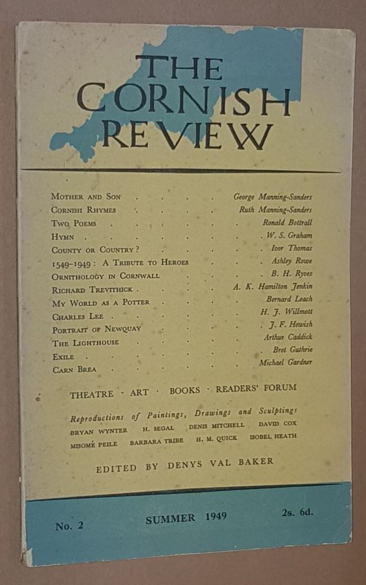Image for The Cornish Review No.2, Summer 1949