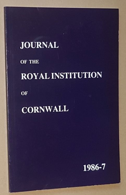 Image for Journal of the Royal Institution of Cornwall 1987-7, New Series Volume X, Part 1
