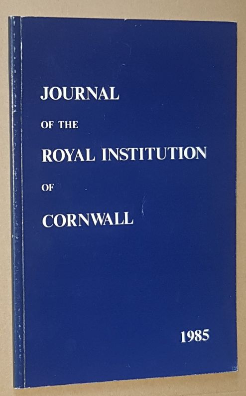 Image for Journal of the Royal Institution of Cornwall 1985, New Series Volume IX, Part 4