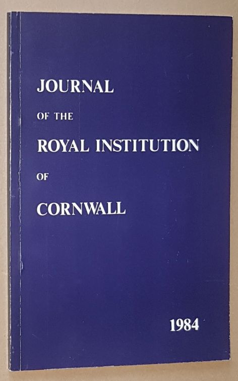 Image for Journal of the Royal Institution of Cornwall 1984, New Series Volume IX, Part 3