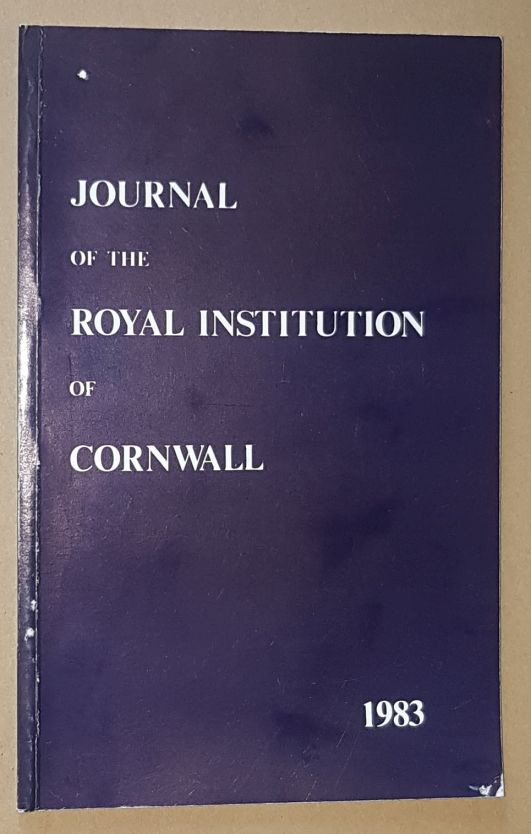 Image for Journal of the Royal Institution of Cornwall 1983, New Series Volume IX, Part 2
