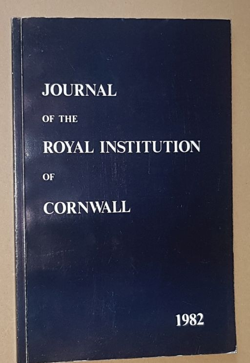 Image for Journal of the Royal Institution of Cornwall 1982, New Series Volume IX, Part 1