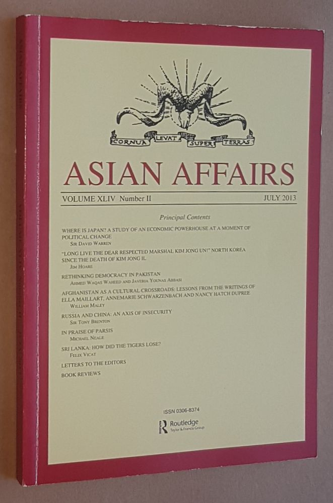 Image for Asian Affairs Volume XLIV, No.2, July 2013. Journal of the Royal Society for Asian Affairs