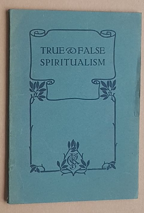 Image for True & False Spiritualism