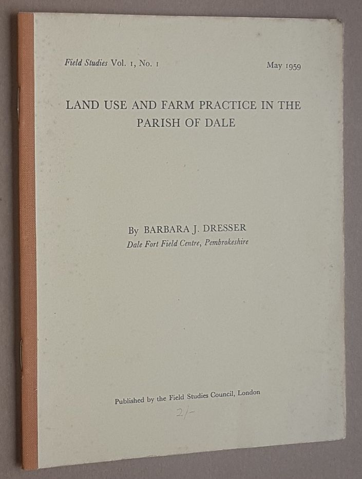 Image for Land Use and Farm Practice in the Parish of Dale