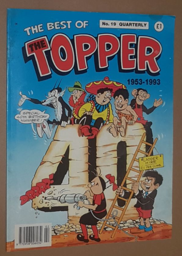 Image for The Best of The Topper No.19 1953-1993