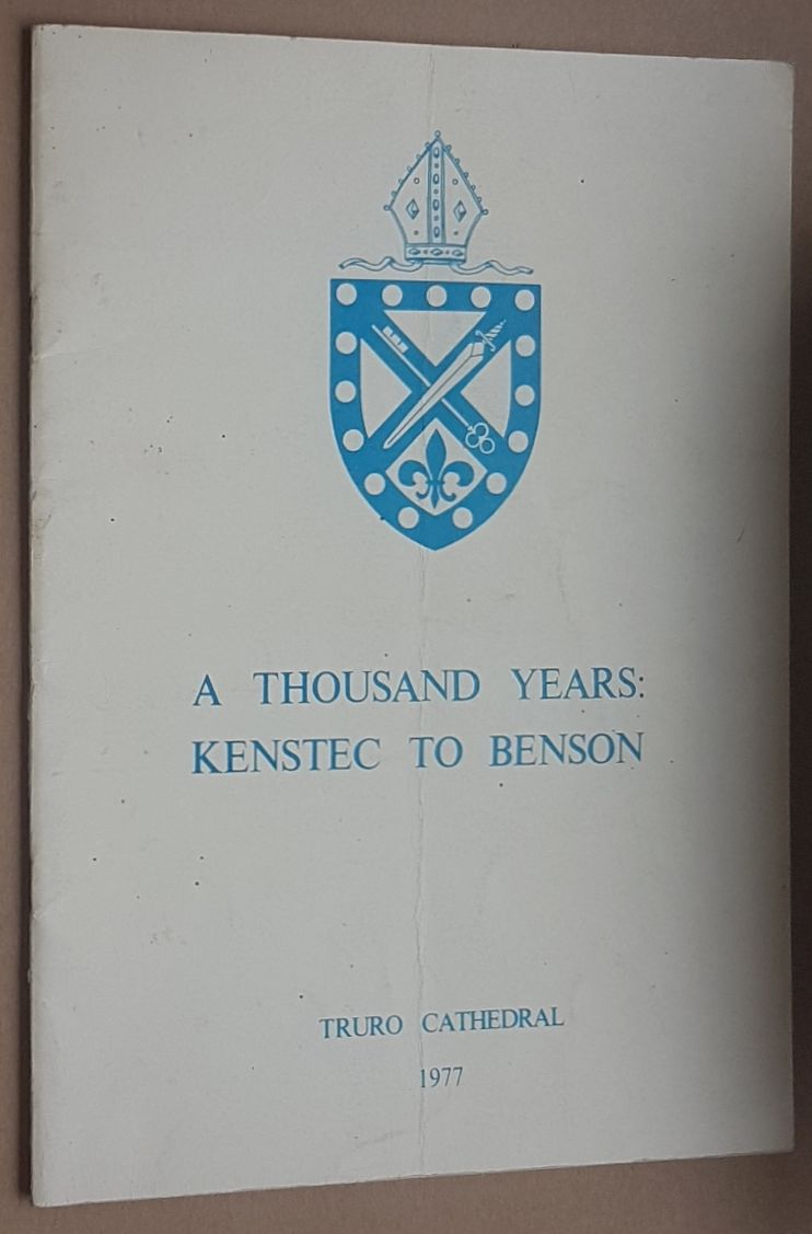 Image for A Thousand Years: Kenstec to Benson