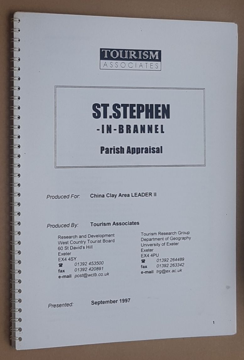 Image for St.Stephen-in-Brannel Parish appraisal, September 1997