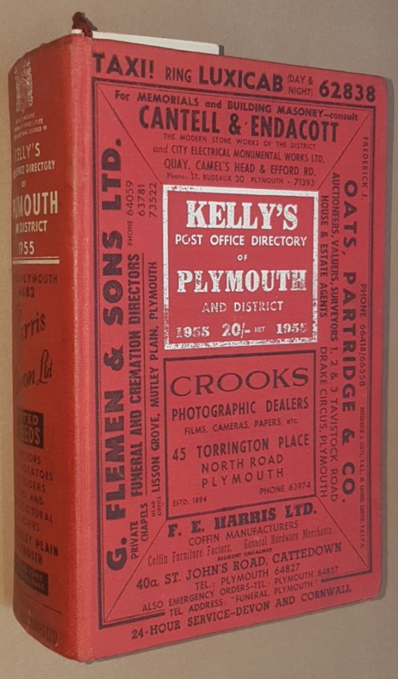 Image for Kelly's Post Office Directory of Plymouth and District 1955