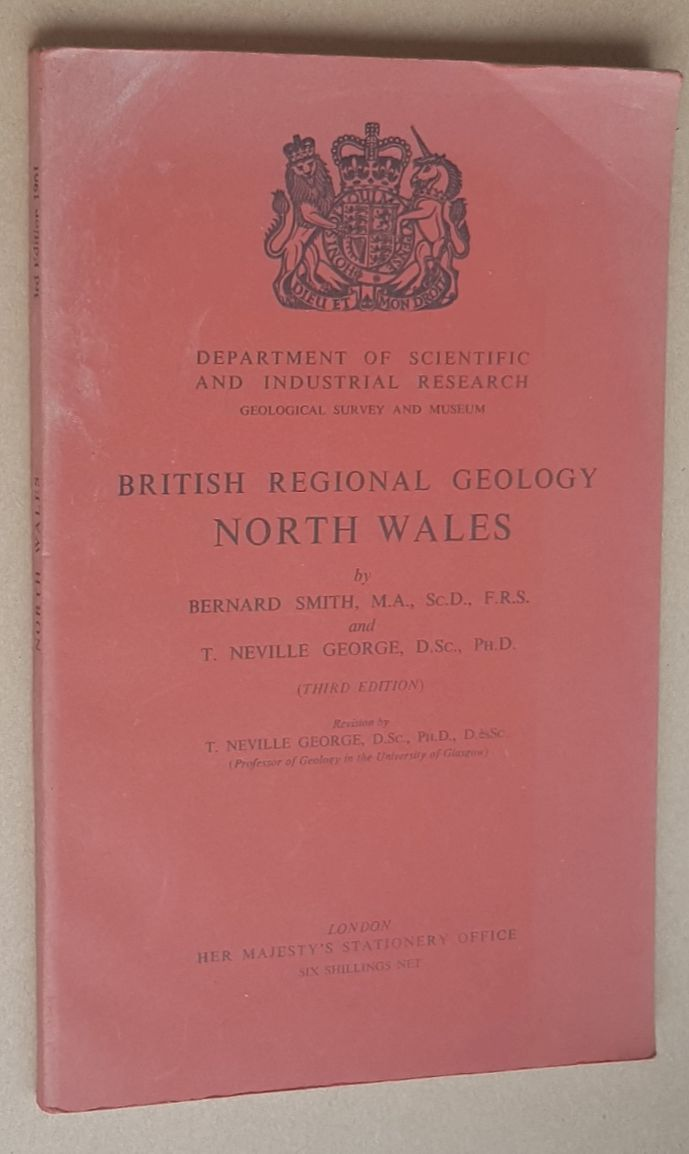 Image for British Regional Geology: North Wales