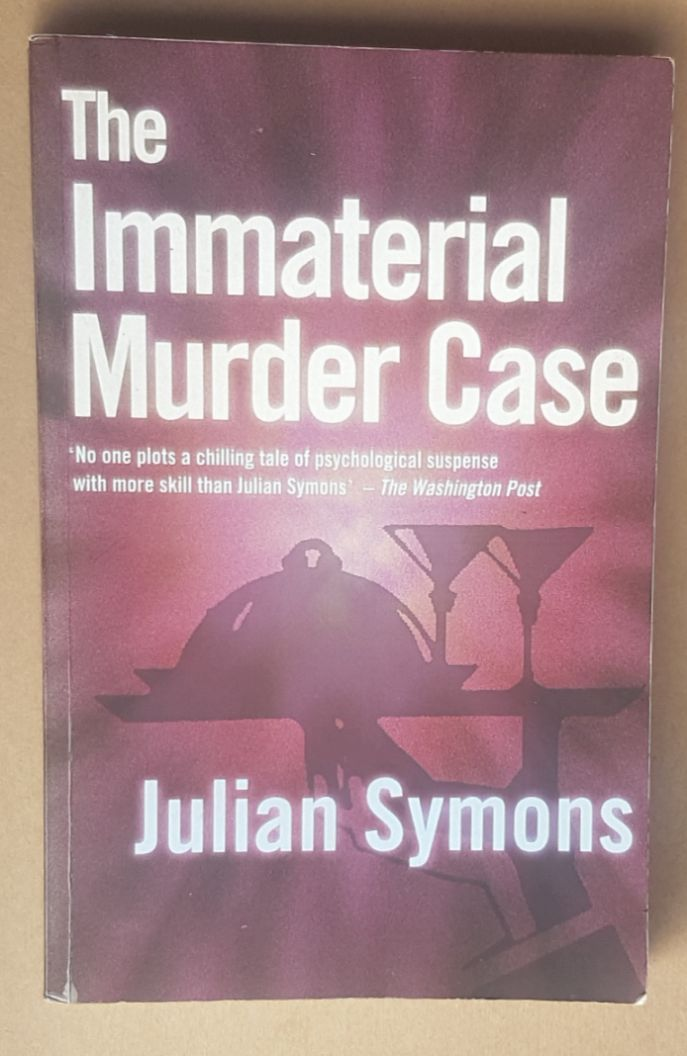 Image for The Immaterial Murder Case