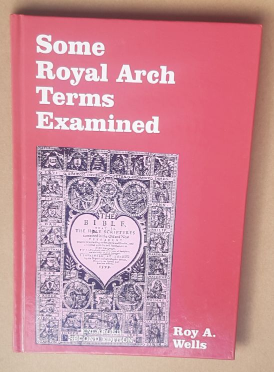 Image for Some Royal Arch Terms Examined