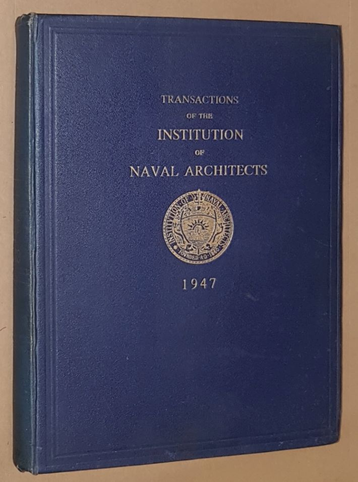 Image for Transactions of the Insitution of Naval Architects 1947, Volume 89