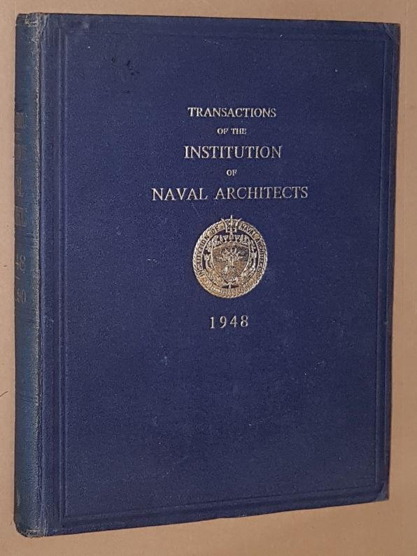 Image for Transactions of the Insitution of Naval Architects 1948, Volume 90