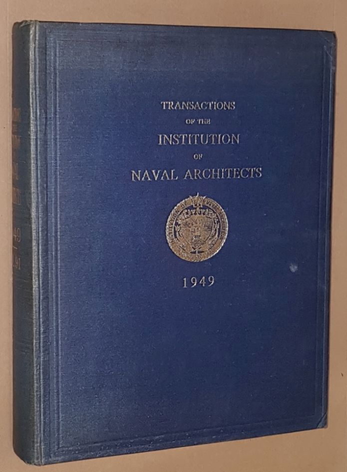 Image for Transactions of the Insitution of Naval Architects 1949, Volume 91