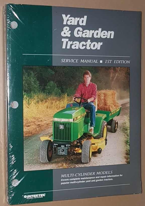 Image for Yard & Garden Tractor Service Manual: Multi-Cylinder Models