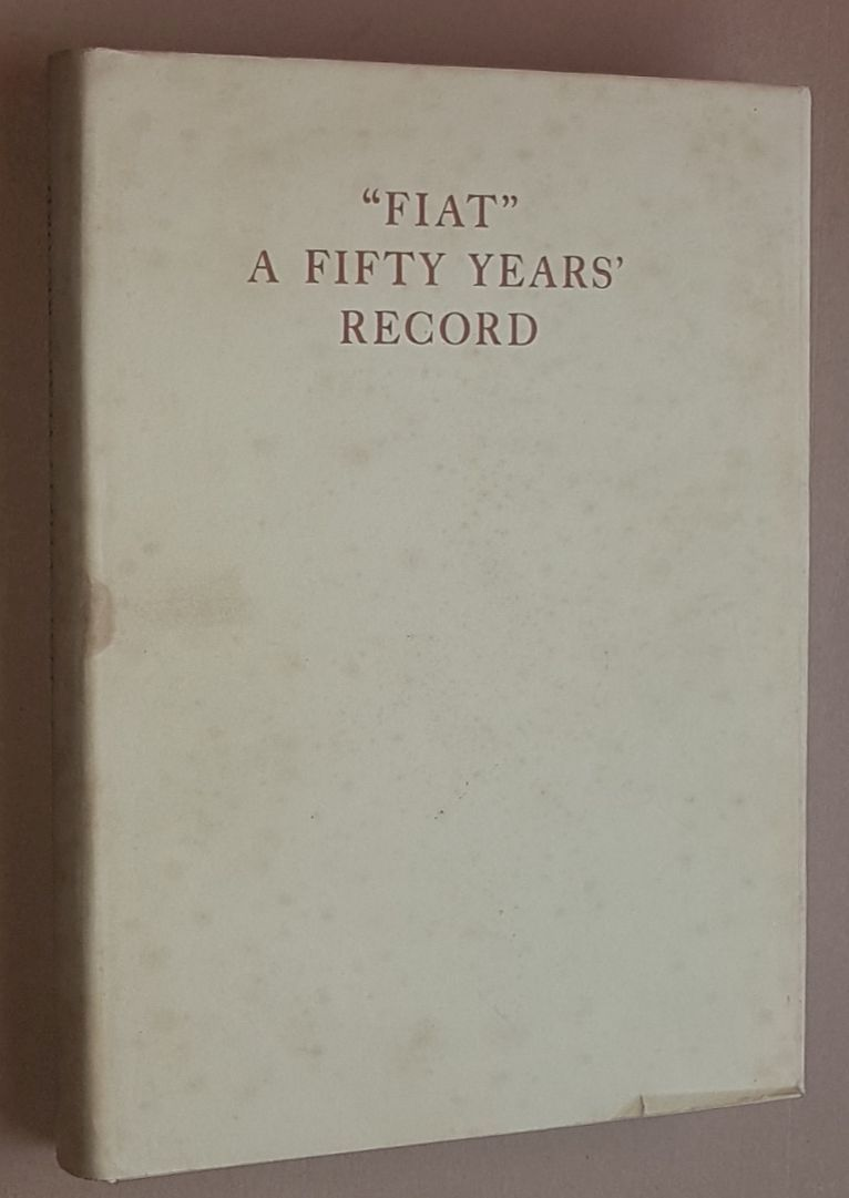 Image for 'Fiat': a fifty years' record