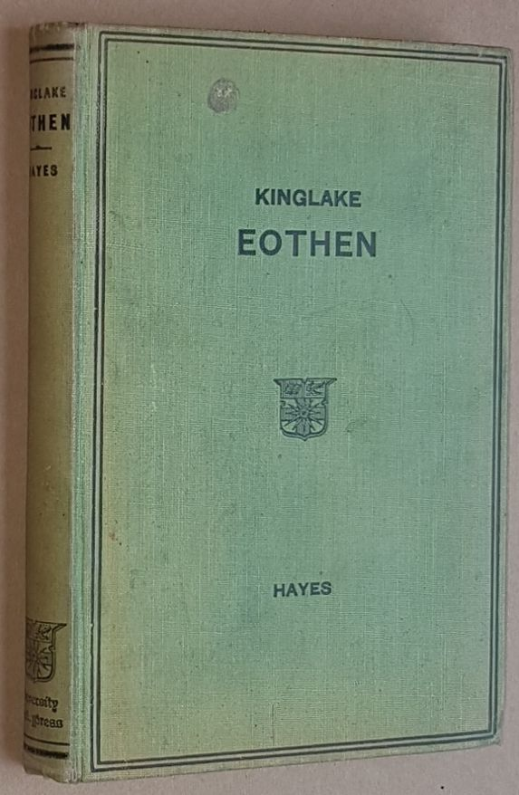 Image for Kinglake: Eothen