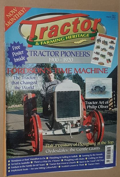 Image for Tractor & Farming Heritage No.5, March 2004