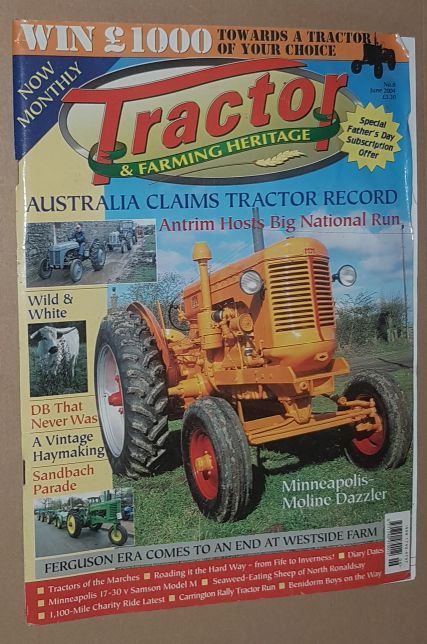 Image for Tractor & Farming Heritage No.8, June 2004
