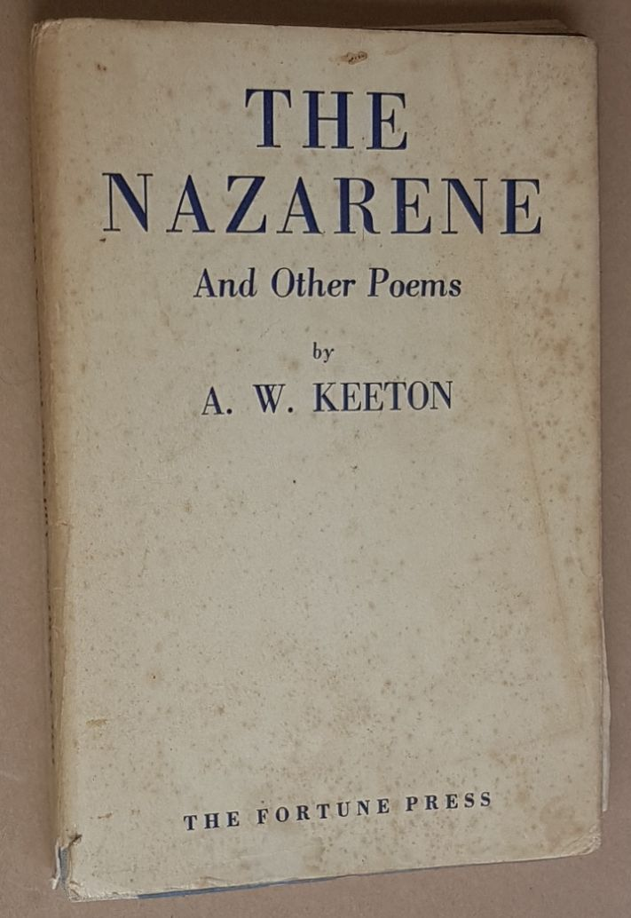 Image for The Nazarene and other poems