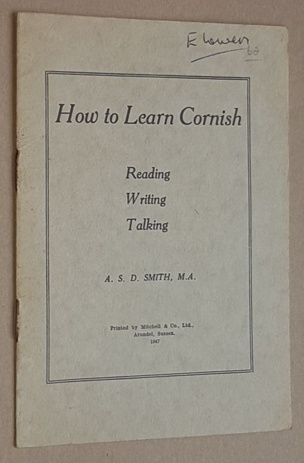 Image for How to Learn Cornish: Reading, Writing, Talking