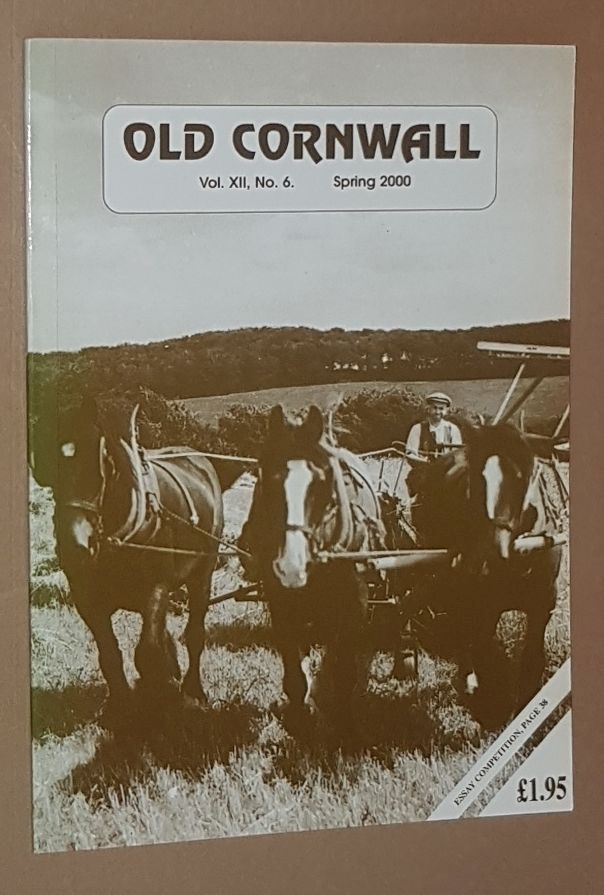 Image for Old Cornwall vol.XII, no.6, Spring 2000