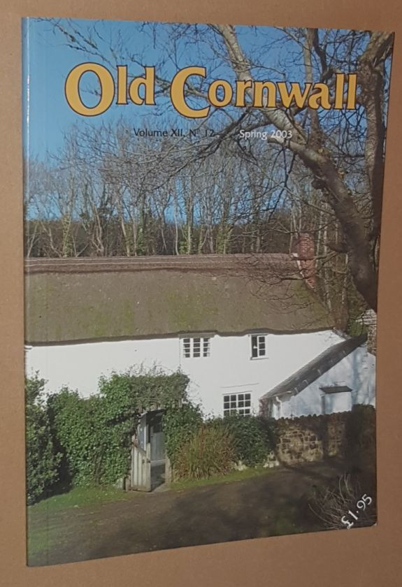 Image for Old Cornwall vol.XII, no.12, Spring 2003