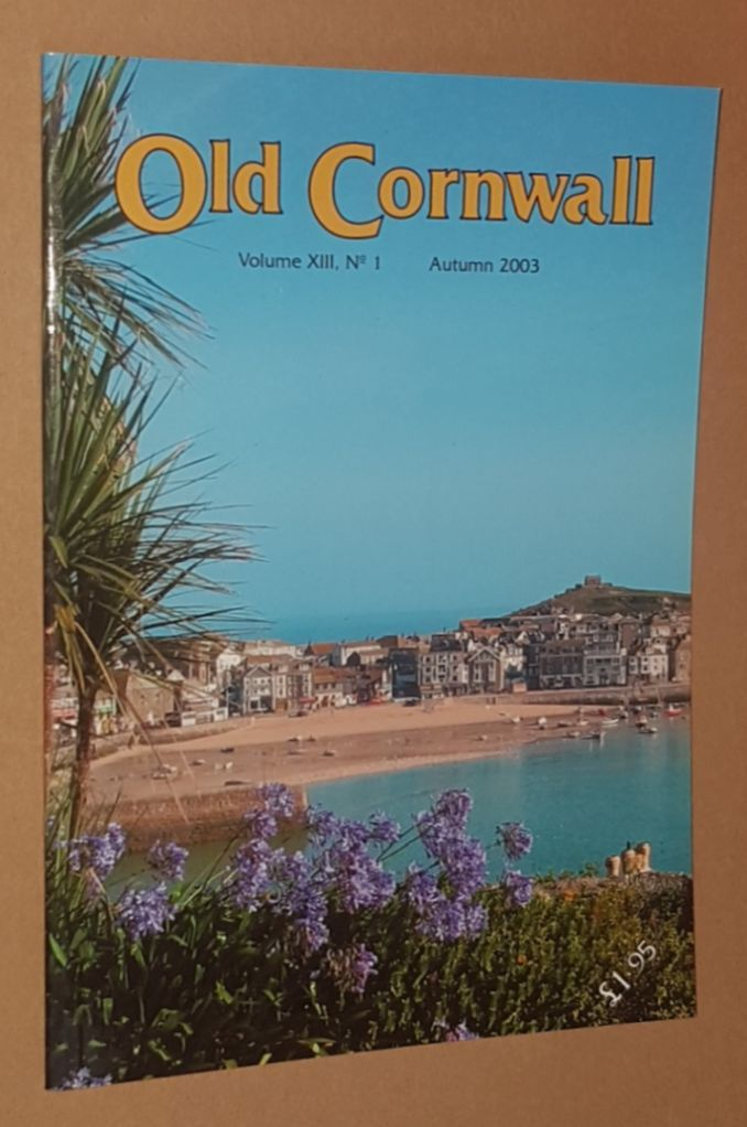 Image for Old Cornwall vol.XIII, no.1, Autumn 2003