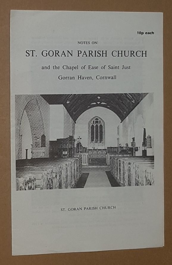 Image for Notes on St Goran Parish Church and the Chapel of Ease of Saint Just, Gorran Haven, Cornwall