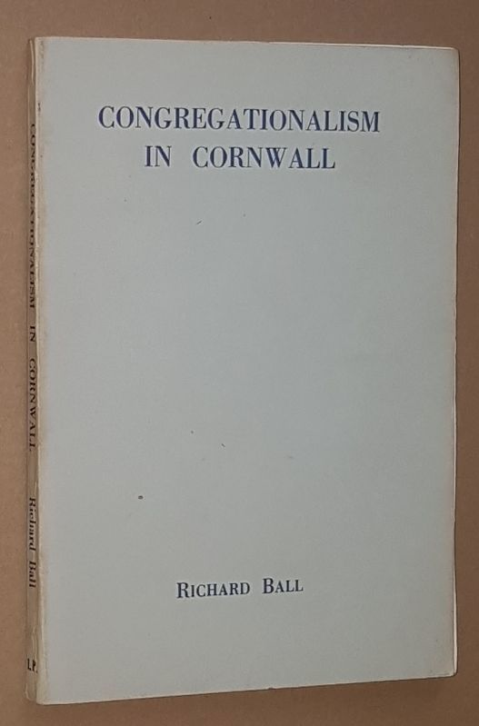 Image for Congregationalism in Cornwall: a brief survey