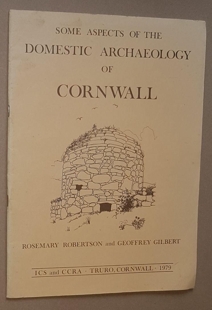 Image for Some Aspects of the Domestic Archaeology of Cornwall (Special Report No.6)