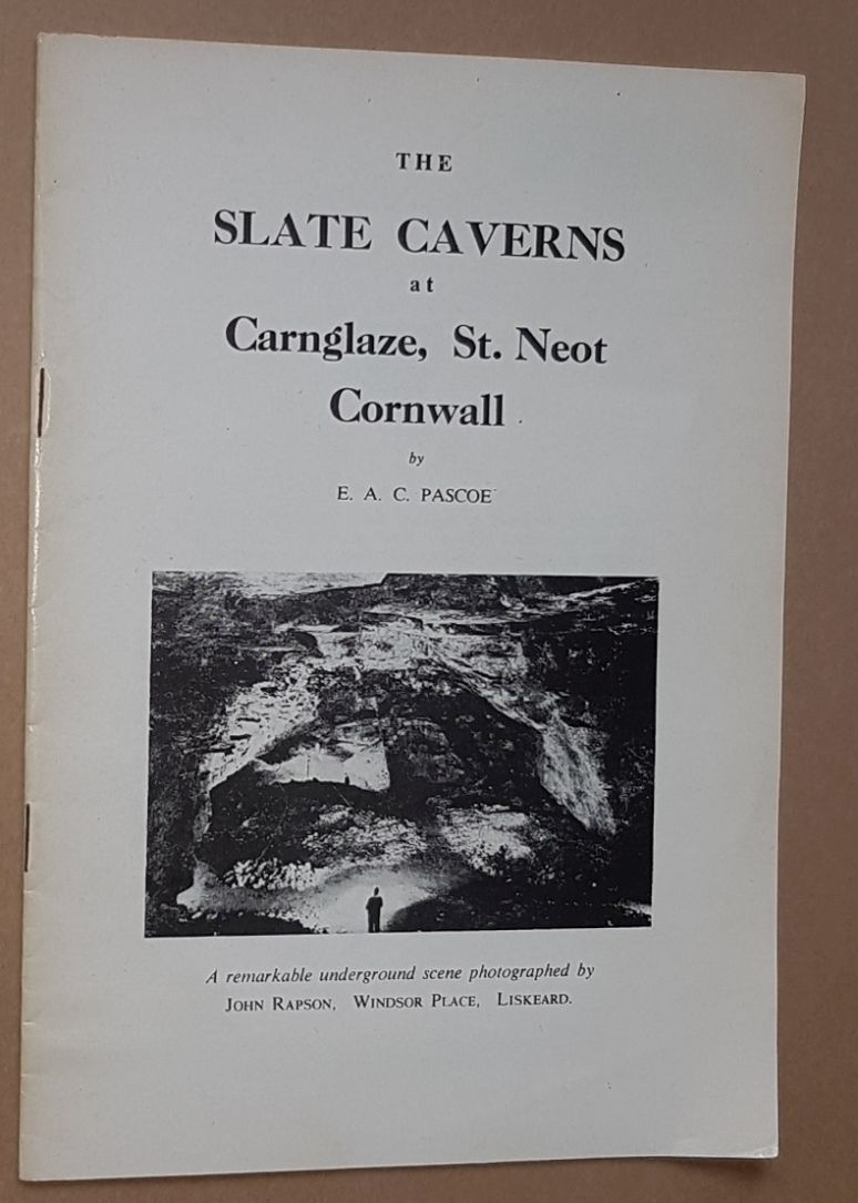 Image for The Slate Caverns at Carnglaze, St Neot, Cornwall