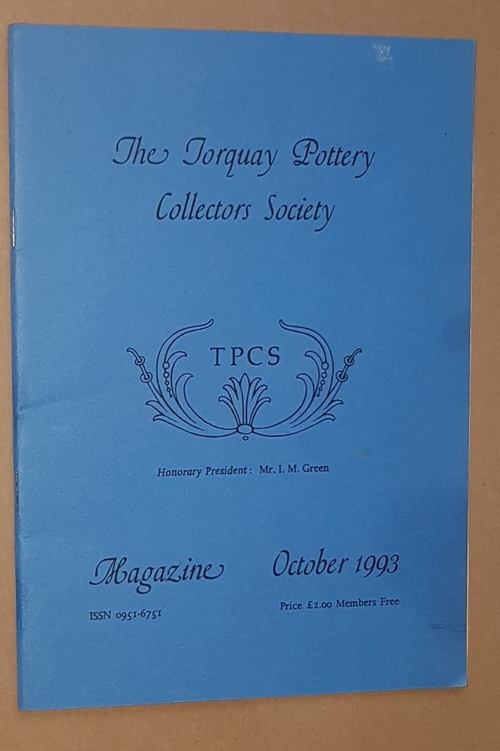Image for The Torquay Pottery Collectors' Society Magazine October 1993
