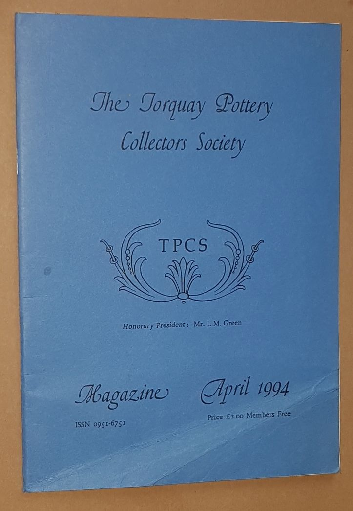 Image for The Torquay Pottery Collectors' Society Magazine April 1994