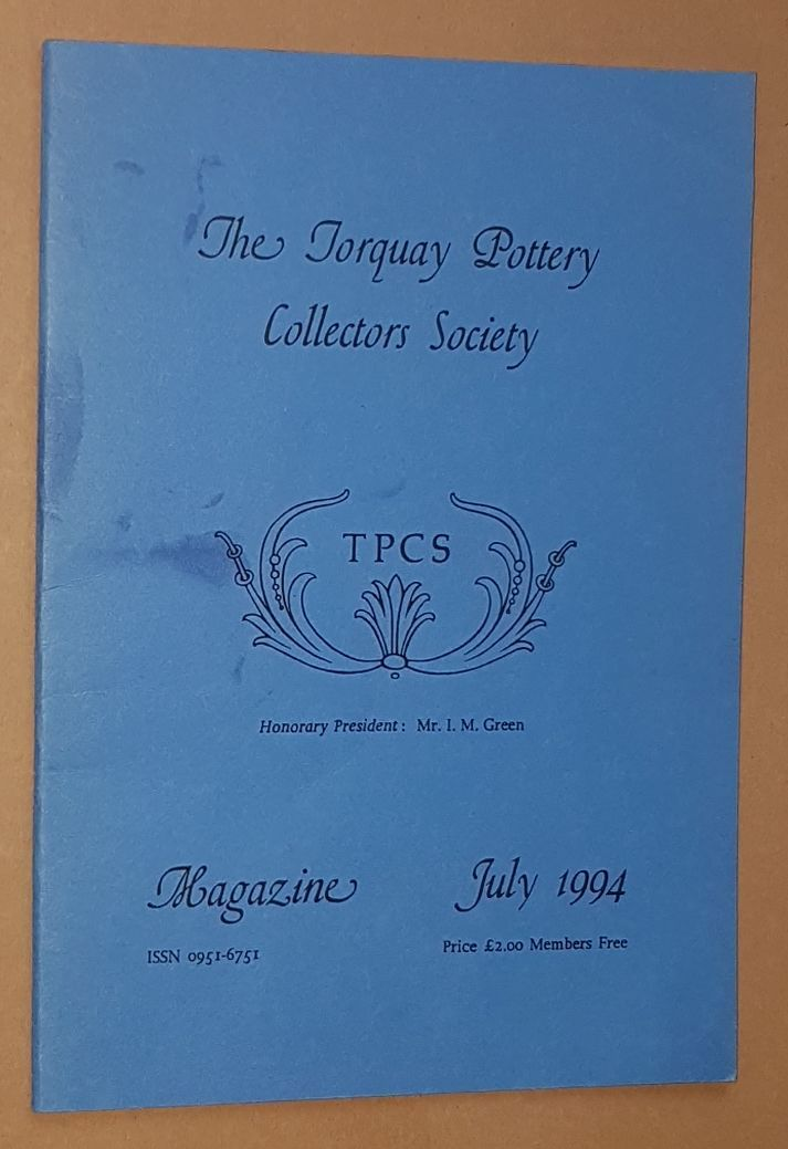 Image for The Torquay Pottery Collectors' Society Magazine July 1994