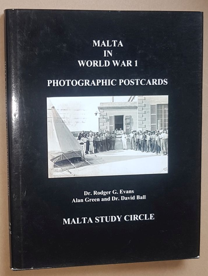 Image for Malta in World War I: photographic postcards