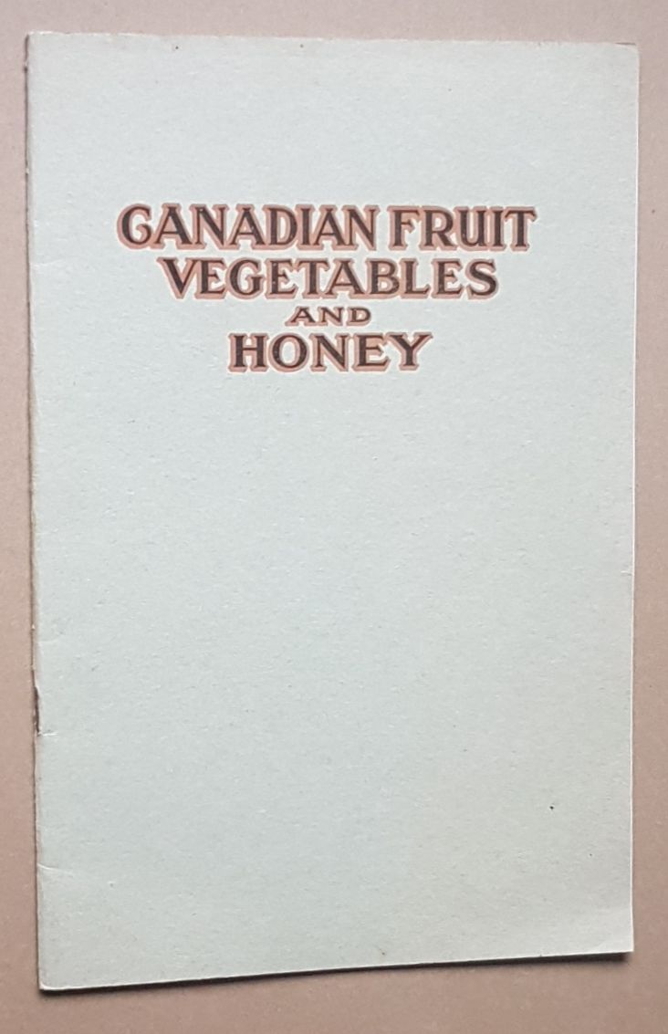 Image for Canadian Fruit, Vegetables and Honey