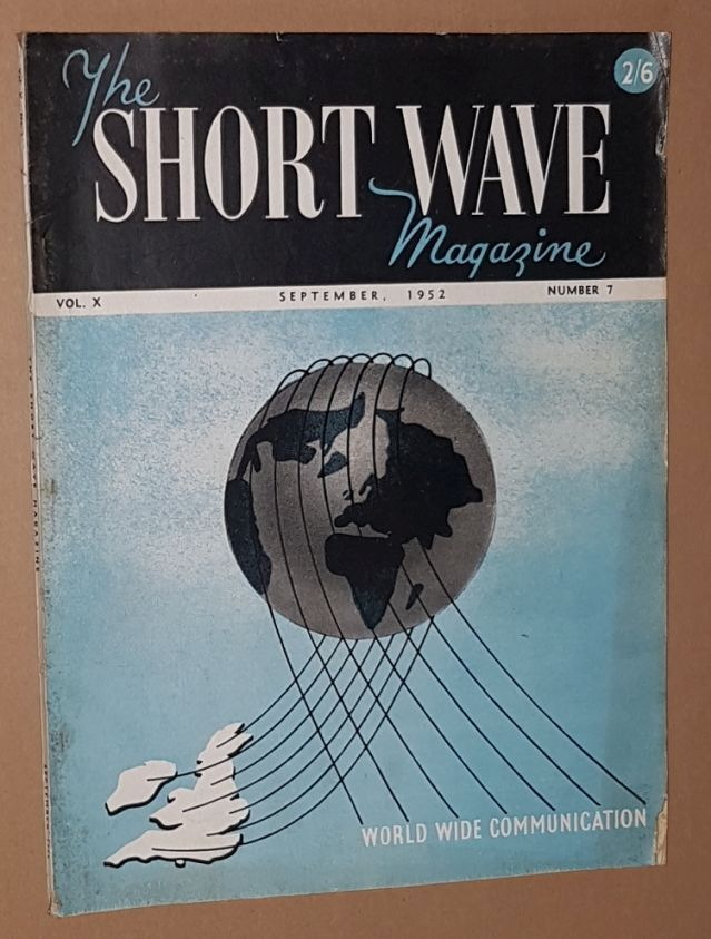 Image for The Short Wave Magazine, Vol.X no.7 [110], September 1952