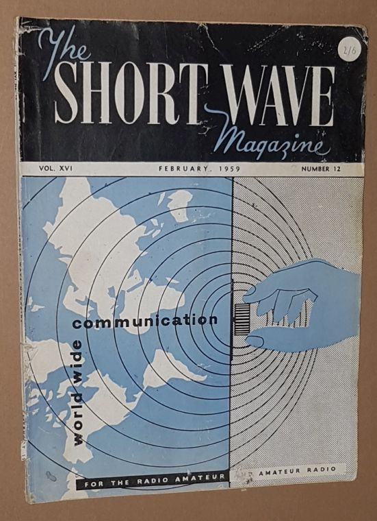 Image for The Short Wave Magazine, Vol.XVI no.12 [186], February 1959