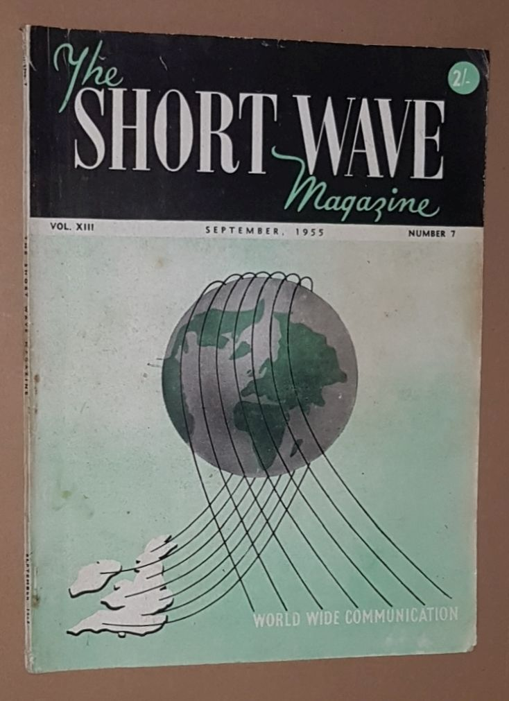 Image for The Short Wave Magazine, Vol.XIII no.7 [145], September1955