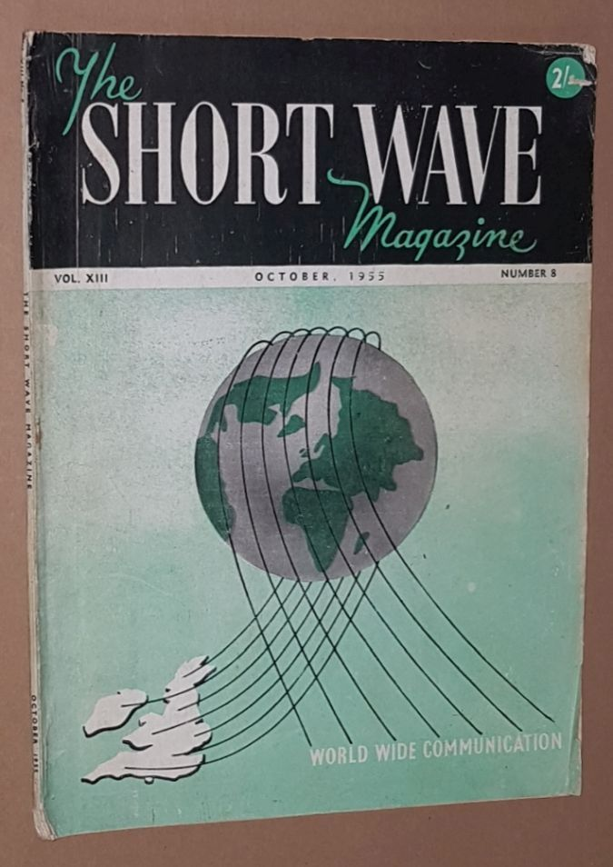 Image for The Short Wave Magazine, Vol.XIII no.8 [146], October1955
